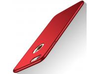 Husa plastic Apple iPhone 7 Mofi Slim Rosie Blister Originala