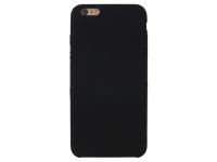 Husa TPU OEM Pure Silicone pentru Apple iPhone 7 Plus / Apple iPhone 8 Plus, Neagra, Blister