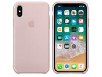 Husa silicon TPU Apple iPhone X MQT62ZM roz Blister Originala