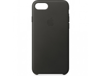 Husa piele Apple iPhone 8 MQHC2ZM gri Blister Originala