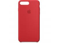 Husa silicon TPU Apple iPhone 8 Plus MQH12ZM rosie Blister Originala