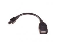 Adaptor OTG USB 3.0 - MicroUSB 13cm Negru
