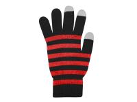 Manusi iarna Touchscreen Sensitive Marimea M negre rosii