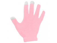 Manusi iarna Touchscreen Sensitive roz