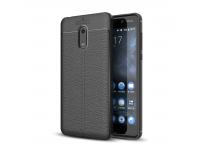 Husa silicon TPU Nokia 6 Litchi