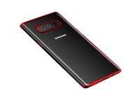 Husa silicon TPU Samsung Galaxy Note8 N950 Cafele Electro Rosie Blister Originala