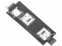 Modul cititor SIM (2 x SIM) si card MicroSD Asus Zenfone 2 ZE551ML