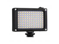 Panou lumina 96 LED pentru camera DSLR Puluz PU4096 cu 2 panouri alb portocaliu Blister Original