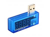 Tester consum/voltaj USB Albastru