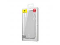 Husa silicon TPU Apple iPhone X Baseus Simple UltraSlim Transparenta Blister Originala
