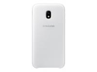 Husa plastic Samsung Galaxy J3 (2017) J330 Dual Layer EF-PJ330CWEGWW alba Blister Originala