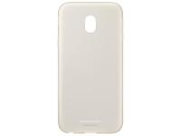 Husa Silicon TPU Samsung Galaxy J3 (2017) J330 Jelly Cover EF-AJ330TFEGWW aurie Transparenta Blister Originala