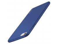 Husa plastic Apple iPhone 6 Plus Vonuo Frosted albastra Blister Originala