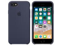 Husa silicon TPU Apple iPhone 8 MQGQ2ZM bleumarin Blister Originala