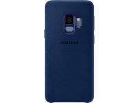 Husa Samsung Galaxy S9 G960 Alcantara EF-XG960ALEGWW Albastra Blister Originala