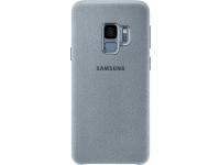 Husa Samsung Galaxy S9 G960 Alcantara EF-XG960AMEGWW Turquoise Blister Originala