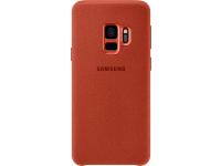 Husa Samsung Galaxy S9 G960 Alcantara EF-XG960AREGWW Rosie Blister Originala