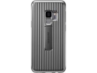 Husa Plastic Samsung Galaxy S9 G960 Standing EF-RG960CSEGWW Argintie