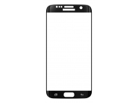 Folie Protectie ecran antisoc Samsung Galaxy S7 edge G935 Tempered Glass 9H Full Face neagra Blister