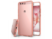 Husa plastic Huawei P10 Ringke Bumper Slim hybrid roz Blister Originala