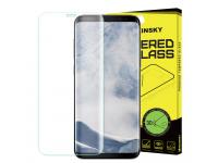 Folie Protectie ecran antisoc Samsung Galaxy S8+ G955  WZK Tempered Glass Full Face Blister Originala