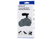 Microfon extern 3.5mm pentru camera DSLR Puluz PU3017 Blister Original