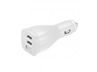 Adaptor auto Dual USB Samsung EP-LN920BWE Fast Charging alb Original