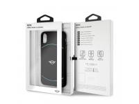 Husa plastic Apple iPhone X Mini Cooper MIROHCPXGR Blister Originala