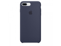 Husa silicon TPU Apple iPhone 8 Plus MQGY2ZM bleumarin Blister Originala