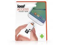 Cititor card MicroSD pentru telefon MicroUSB OTG Leef Acces Alb Blister Original