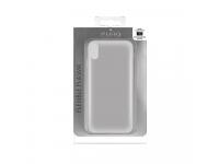 Husa silicon TPU Apple iPhone X Puro Plasma Transparenta Blister Originala
