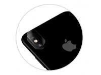 Set Folie Protectie camera Apple iPhone X (3 bucati) Blister