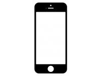 Geam cu rama si adeziv OCA Apple iPhone 5c