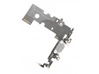 Banda cu conector incarcare / date si microfon Apple iPhone 8 argintiu