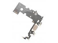 Banda cu conector incarcare / date si microfon Apple iPhone 8 Aurie