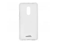 Husa silicon TPU Huawei P9 lite mini Kisswill Antisoc Transparenta Blister Originala