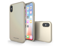Husa silicon TPU Apple iPhone X Molan Cano Jelly aurie Blister Originala