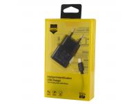 Incarcator retea MicroUSB P208A 2.1A 1m Blister
