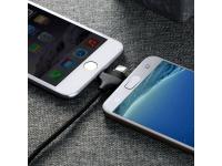 Cablu de date USB - MicroUSB Lightning USB Type-C Joyroom S-L317 Nylon 3in1 1.25 m Blister Original