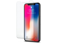 Folie Protectie spate antisoc Apple iPhone X Tempered Glass Blueline Blister