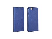 Husa Piele Samsung Galaxy A8+ (2018) A730 Case Smart Magnet Bleumarin