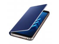 Husa Samsung Galaxy A8 (2018) A530 EF-FA530PLEGWW Neon Flip Albastra Blister Originala