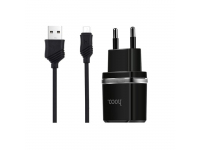 Incarcator retea Dual USB MicroUSB HOCO C12 2.4A Blister Original