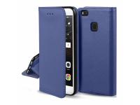 Husa Piele Samsung Galaxy A3 (2017) A320 Case Smart Magnet Bleumarin