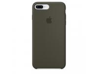 Husa silicon TPU Apple iPhone 8 Plus MR3Q2ZM Kaki Blister Originala