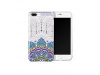 Husa silicon TPU Apple iPhone 7 HOCO Doren Albastra Blister Originala