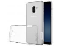 Husa silicon TPU Samsung Galaxy A8+ (2018) A730 Nillkin Nature Transparenta Blister Originala