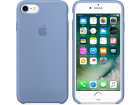 Husa silicon TPU Apple iPhone 8 MQ0J2ZM Albastra Blister Originala