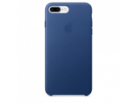Husa piele Apple iPhone 8 Plus MPTF2ZM Bleumarin Blister Originala