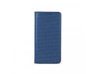 Husa piele Samsung Galaxy A8 (2017) A530 Smart Bingo Bleumarin